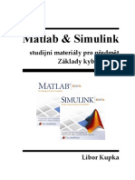 Matlab & Simulink studijní materiály pro předmět Základy kybernetiky (CZ)