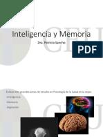 1. Inteligencia y Memoria