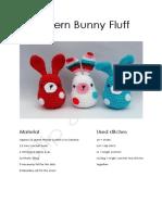 Crochet pattern bunny