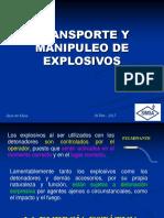 Manipuleo de Explosivos