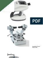 Métériels d'Optométrie&Orthoptie