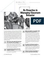 Disruptive Behaviour 1