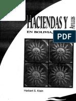 Herbert Klein - Haciendas y ayllus en Bolivia. La región de La Paz, ss. XVIII y XIX.pdf