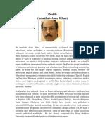 Dr. Intakhab A. Khan