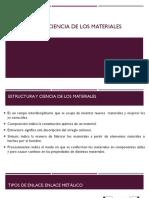 Estructura y Ciencia de Los Materiales