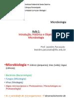 Aula 1 - Histórico Microbiologia - Fase 5