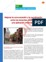 1. Mejorar La Comunicacin y La Coordinacin Entre Los Docentes Mediante Una Aplicacin Informtica