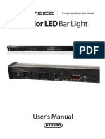 3 color led bar light