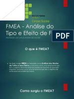 FMEA Analise do Tipo Eefeito