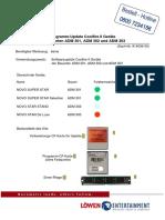 Programm-Update Coolfire II Geräte Der Bauarten ADM 301, ADM 302 Und ADM 303