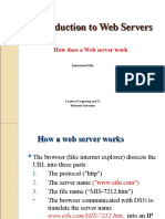 An Introduction to Web Servers