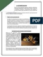 La Automatización - Maqui