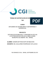 Tesina Tsd Diplomado de Geomecanica Sandra Bittencourt Miyabukuro