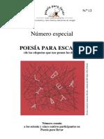 Ppll1819_13_especial Poesía Para Escapar_comentario IES Siglo XXI