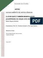 Mestrado - Teatro - Ator-Encenador - Mariliz Regina Schrickte - O ator que é também manipulador....pdf