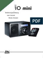 DNT IPdio Mini Schwarz Bedienungsanleitung 77c183