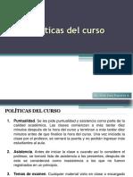Politicas curso