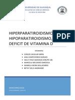 hiperparatiroidismo perdida de peso repentina