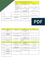 MESASMESAS de Exámenes Finales Noviembre - Diciembre Prof. Historia Res. 0765