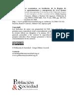 Heterogeneidades económicas en territorios de la Región de Valparaíso-Chile