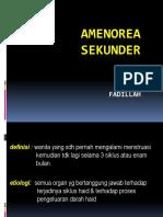 Amenore Sekunder - Fadillah.ppt