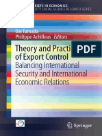 (Kobe University Social Science Research Series) Dai Tamada,Philippe Achilleas (eds.) -  Theory and Practice of Export Control_ Balancing International Security and International Economic Relations-Sp.pdf