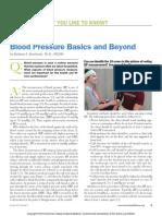 ACSM Blood Pressure Basics and Beyond