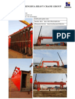 Shenghua Gantry Crane Project