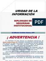Information Security Management, INAP 2010