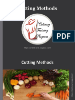 Basic Cutting Methods -https://chefqtrainer.blogspot.com/