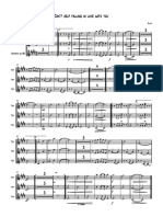 Can´t help falling in love with you - Partitura completa