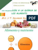 Introduccion a La Quimica de Los Alimentos