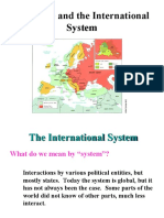 State and International System