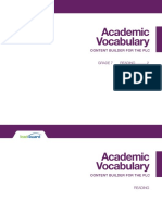 academic vocab elar gr 07