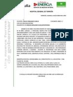Resumen Clinico Dr Gomez