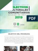 Colectivos Culturales Comunitarios 2019