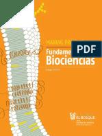 Manual Fundamentos de Biociencias 2018-2