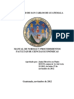 Manual Procedimientos Fac Economicas Aprobado