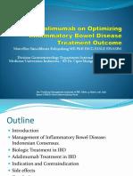 Workshop - 2 Role of Adalimumab on Optimizing Inflammatory Bowel Disease