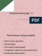 Histopatotehnologi - 2