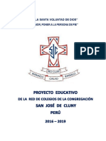 Proyecto Educativo Red Sjc
