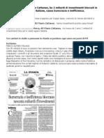 Terna Guidata Da Flavio Cattaneo Ha 2 Miliardi Di Investimenti Bloccati Causa Burocrazia e Inefficienza