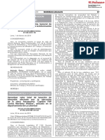 TRANSPORTES Y COMUNICACIONES RESOLUCION MINISTERIAL N° 052-2019 MTC/01.02