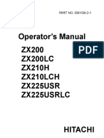 Hitachi ZAXIS 200 Excavator operator's manual.pdf