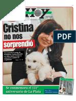 Los cambios de gabinete de Cristina Fernández en 2013