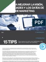 15 TIPS PARA MEJORAR LA VISIÓN, LAS HABILIDADES Y LOS DATOS DE SU EQUIPO DE MARKETING.PDF