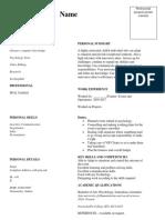 SEAL Smart CV Sample (1) (1)