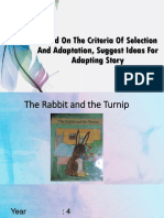 The Rabbit and the Turnip