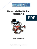 Real Guitar Manual