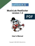 Real Guitar Manual